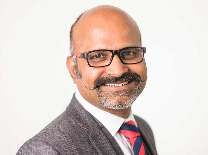 Krishnan Anantharamakrishnan is a 